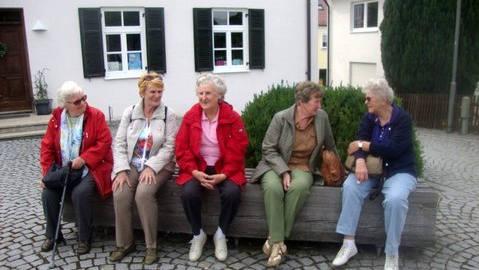 Foto unserer Mitglieder im Gespräch