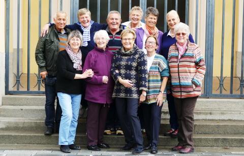 Gruppenfoto des Teams des Elisabethen-Vereins