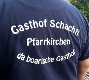 Schriftzug Gasthof Schachtl in Pfarrkirchen